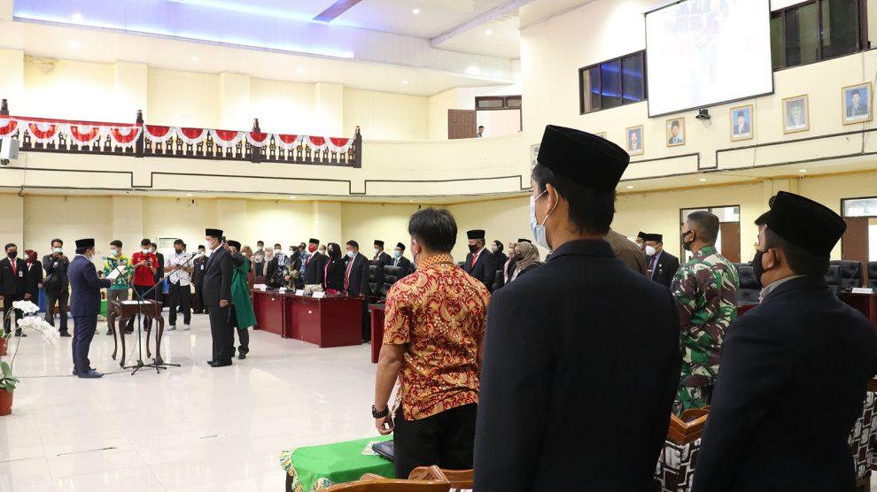 Anggota Bawaslu Banjar Hadiri Pelantikan Pengganti Antar Waktu (PAW) Anggota DPRD Kabupaten Banjar