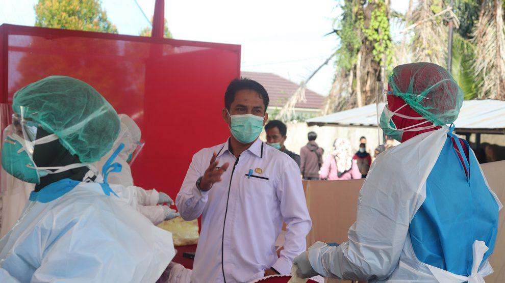 Monitoring Swab Antigen Untuk Panwas Kecamatan dan Jajaran