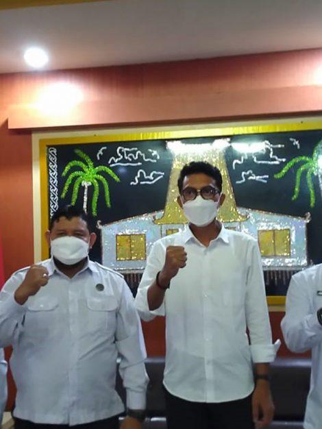 Audiensi dengan Bupati Kabupaten Banjar