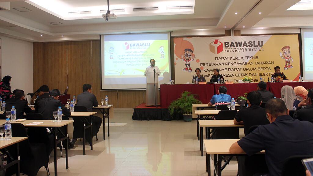 Rapat Umum, Iklan Media Massa Cetak dan Elektronik